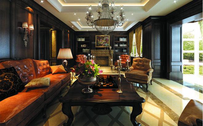 实创装饰打造300平五居室大平层古典欧式风格装修