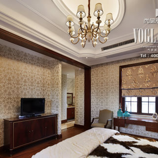 200平米以上别墅欧式古典风格墙面装修效果图大全