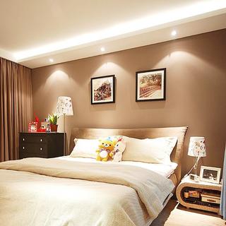 现代风格卧室墙面装修效果图大全2015图片-搜狐家居
