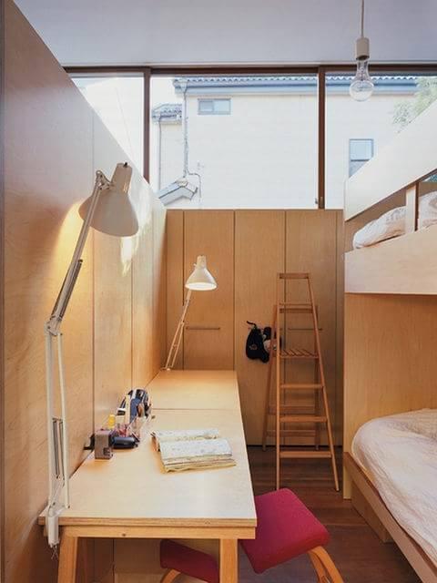 原木色调素雅日式小两居装修效果图