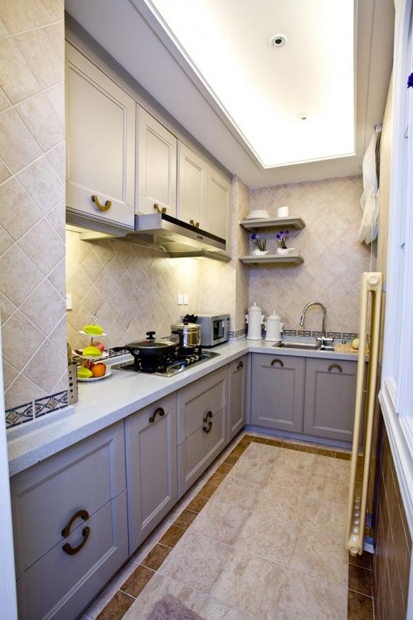 地中海风格家具 两室两厅实用性家居装修效果图