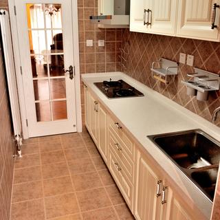 欧式古典风格白色厨房装修效果图大全2015图片-搜狐图片