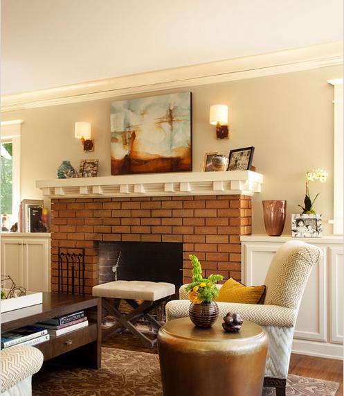 280平米温馨美式的联排别墅装修效果图