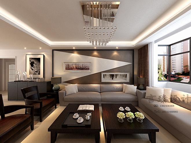 室内设计效果图 现代