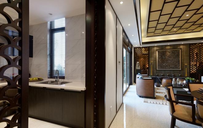 建筑类别:叠拼别墅   风格划分:新中式风格  建筑面积:254平米  设计