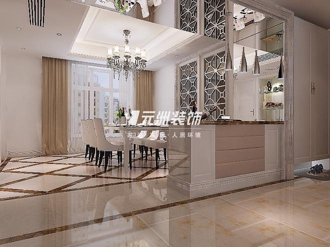 平米室内设计  设计出品:石家庄元洲装饰公司 小区: 国仕山 物业类别