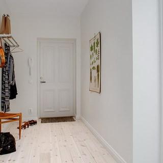 北欧清新简约型公寓室内设计