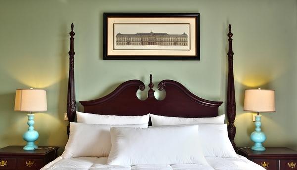 传统美式绝美三居室装修效果图