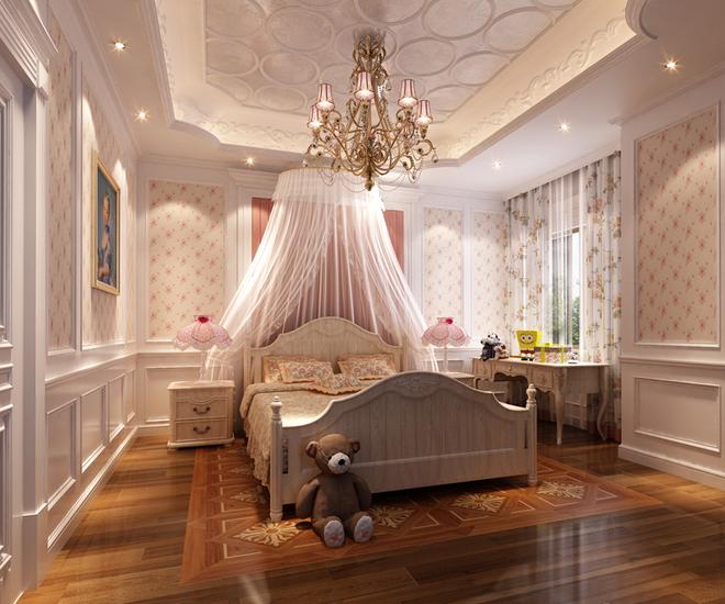案例风格:欧式新古典          房屋户型:独栋别墅    建筑面积:4