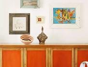 暖橙色的家来自南半球的温暖