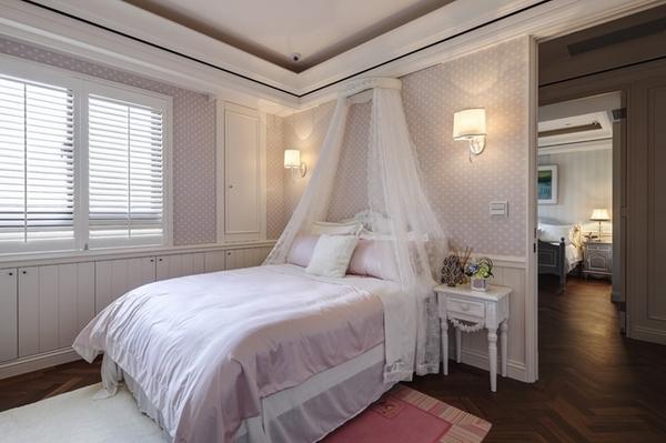 新美式惊艳的三居室装修效果图