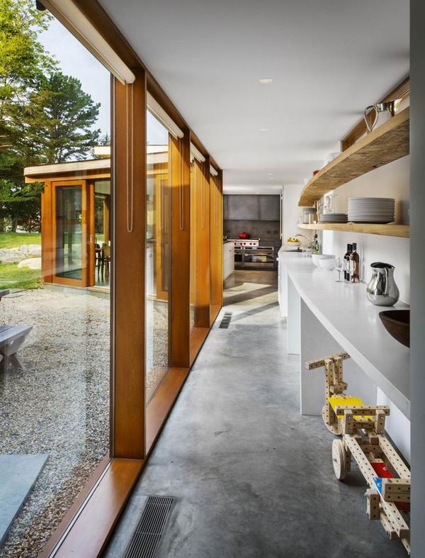 乡村温馨与工业元素混搭的私人豪宅装修效果图