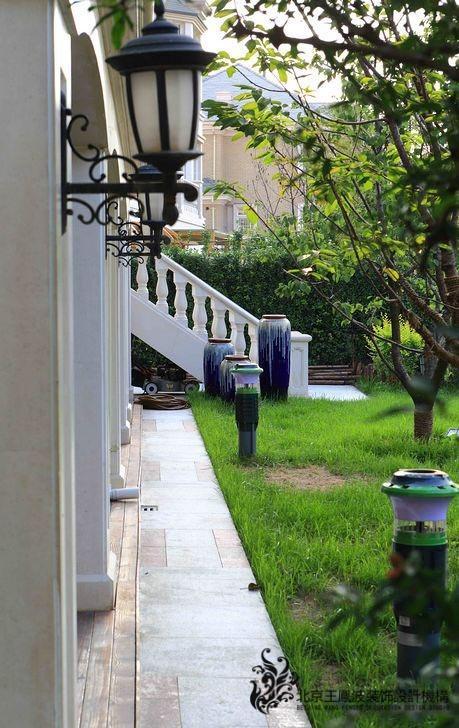800平混搭风格的东方普罗旺斯别墅装修效果图