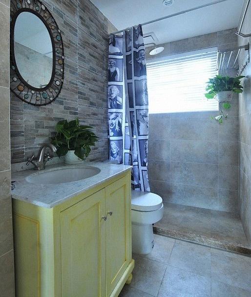 160平美式三居设计 清爽宜家个性十足装修效果图