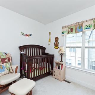 150-200平米复式风格褐色儿童房门窗装修效果图大全