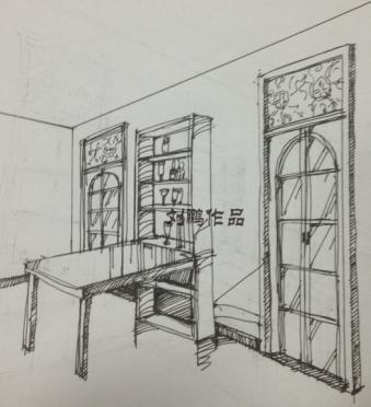 房子素描简单步骤图