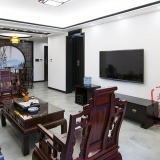 新中式风格客厅装修效果图大全2015图片-搜狐家居品格