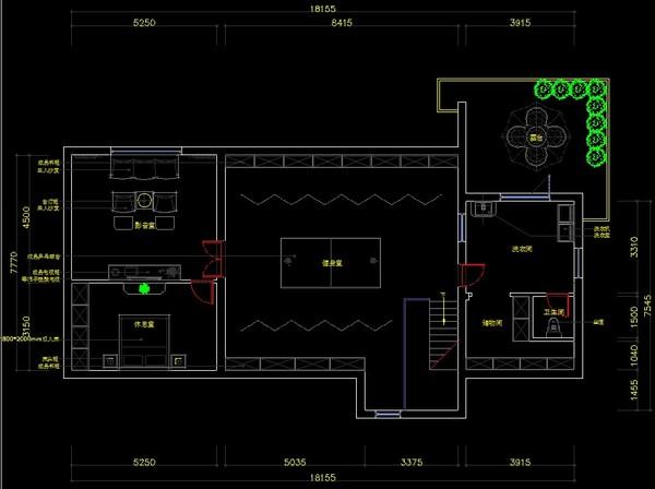 美式别墅古典优雅装修效果图