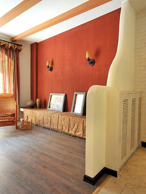 温馨复古风格大气混搭两居室装修效果图