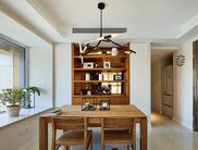 137平现代简约3居原木设计