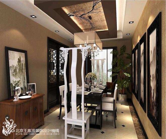 入門處為門廳區域,設計輕巧隔斷與客廳分隔.