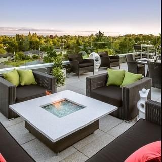 200平米以上别墅现代风格庭院装修效果图大全2015图片