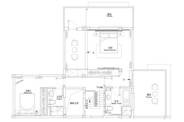 怅卧袷衣夏黄昏 331平米东南亚风格别墅装修效果图