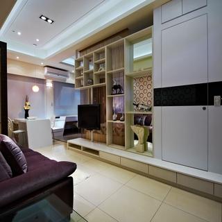 43平米鲜艳色调的活力一室一厅