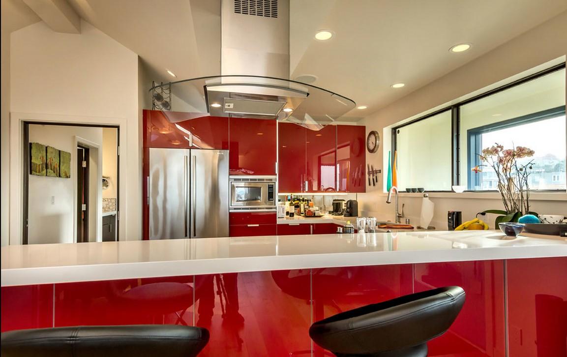 阁楼做厨房图片大全