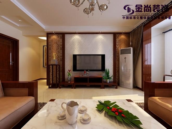 中海国际社区135平新中式装修设计