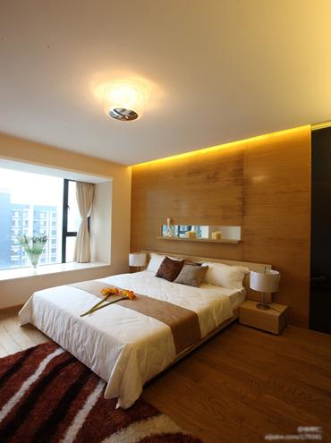 庄重日系两居室装修效果图 脱俗不凡98平原木设计
