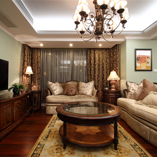 钱江湾花园--130平米美式4房2厅2卫