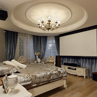 欧式古典风格白色卧室装修效果图大全2015图片-搜狐