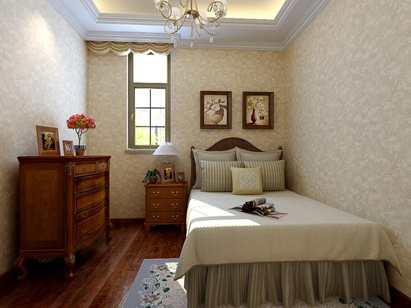 中式美式混搭奢华别墅装修效果图