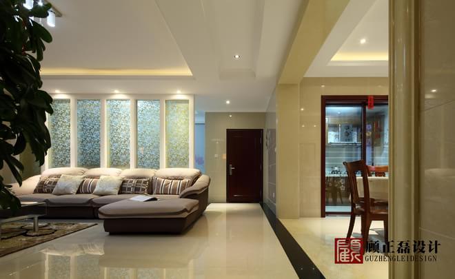 房屋简装水泥墙面效果图