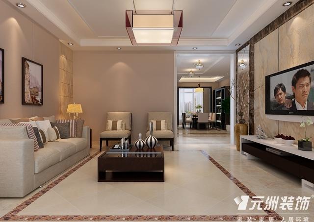 石家庄国际城3室2厅2卫167平米现代风格装修设计效果