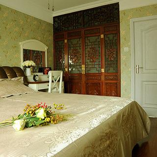 《心中的桃花源》中式韵味婚房设计