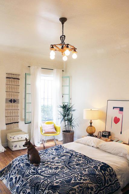 随性舒适美式大一居装修效果图