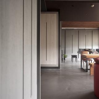 大平米现代风时尚公寓