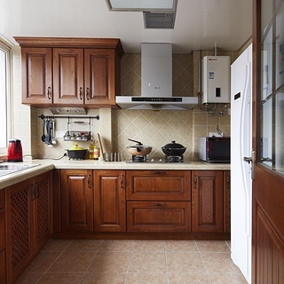 欧式古典风格厨房装修效果图大全2015图片-搜狐家居