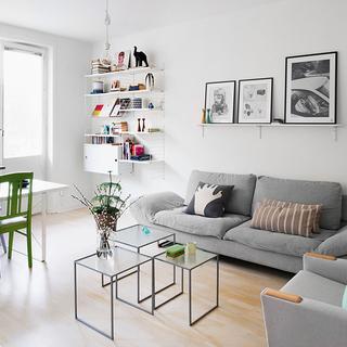 瑞典56平方米现代简约风公寓