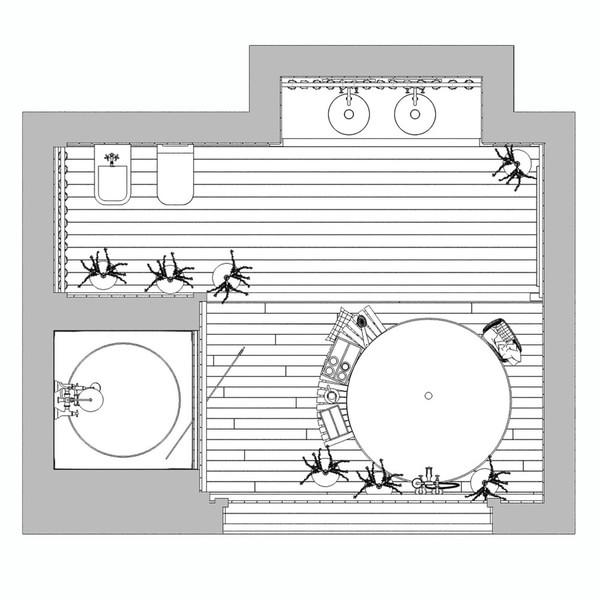 简约优雅生活从这样的卫浴间开始  简约浴室装修效果图