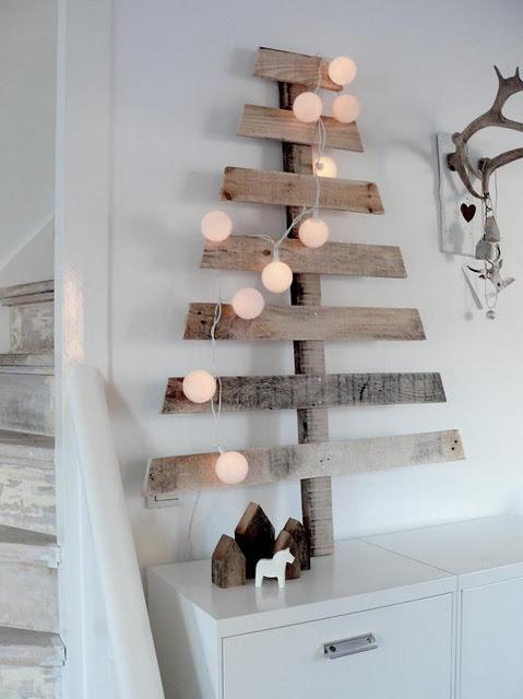新年家装 混搭圣诞树DIY效果图