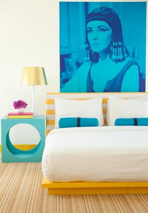 地中海风格唯美浪漫两居室装修效果图