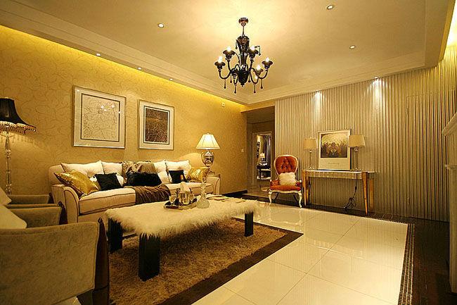 90平米三室两厅装修 设计图展示