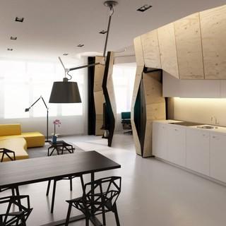 60平米 最大化利用空间的巧妙设计