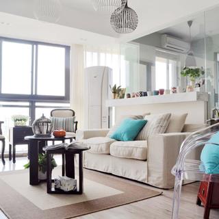 蓝调JAZZ-11万元半包价打造的120平方欧美休闲两房两厅