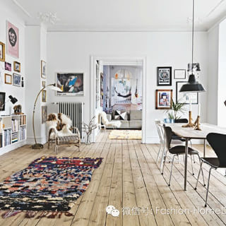 Koti Tanskassa的挂毯之家