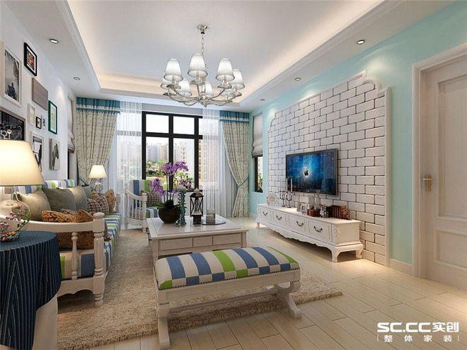 【实创装饰】上海90平米现代风格