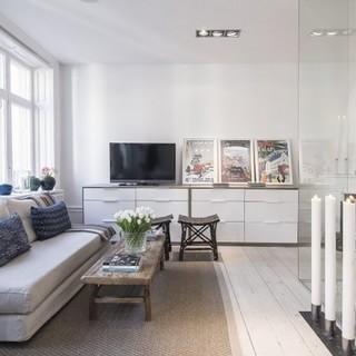 令人心动的瑞典清新小公寓